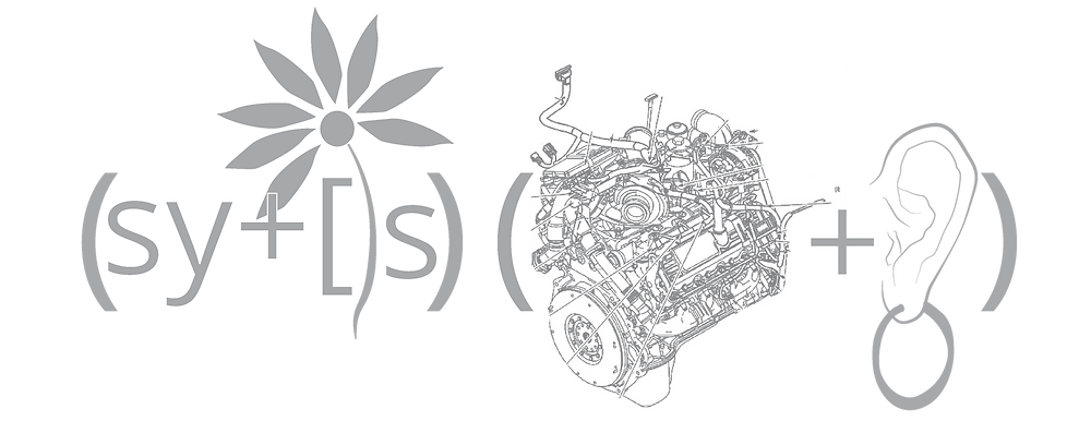 Rebus: Systems Engineering - Sy +stems engine earring