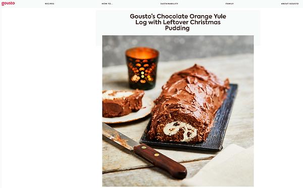 Chocolate Orange Yule Log https://www.gousto.co.uk/blog/chocolate-yule-log