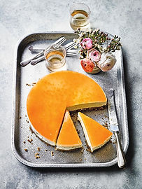 Grapefruit & White Chocolate Cheesecake - Waitrose Weekend