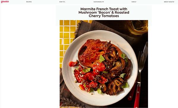 Marmite French Toast