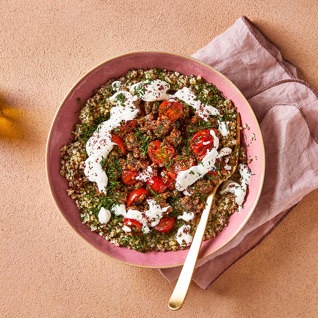 Turkish Lamb & Dill-infused Bulgur
