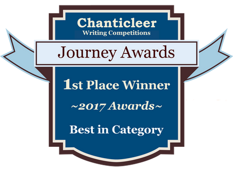 Journey Award ~ First in Category WIN!