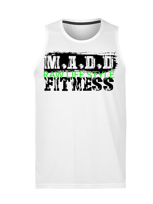 MADD Fitness Raw Lifestyle Green text