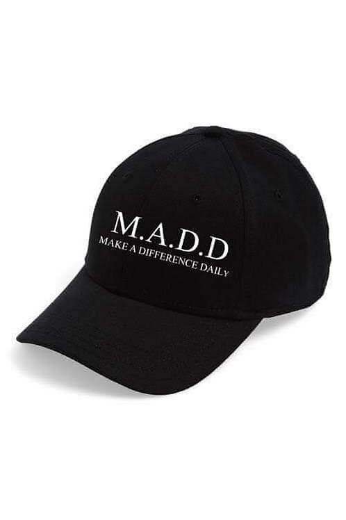 MADD Make a difference daily hat