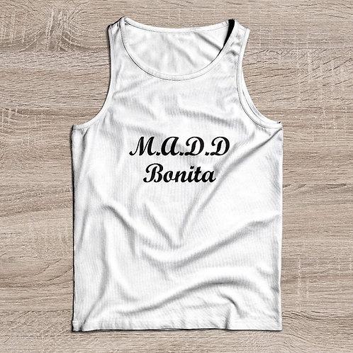 M.A.D.D BONITA TANK white