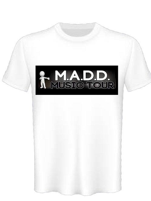 MADD Music Tour White shirt
