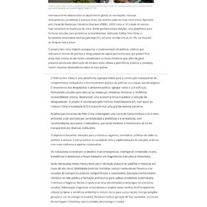 AlgoMais: Plataforma propõe despolarizar a política, enfrentar mudanças climáticas e reduzir...