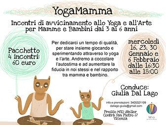 Yoga bimbi Vicenza | Giulia Dal Lago
