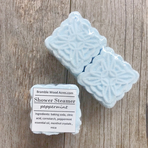 Peppermint Essential Oil Shower Steamers