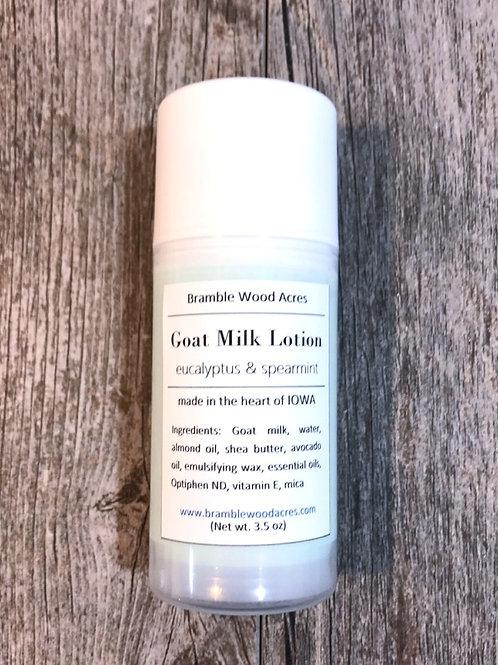 Eucalyptus & Spearmint Goat Milk Lotion