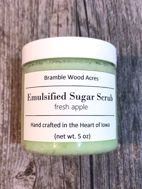 Fresh Apple Emulsified Sugar Scrub