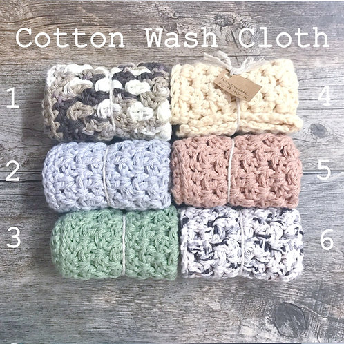 Crocheted Wash Clothes