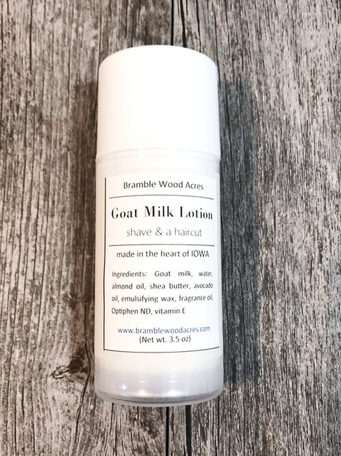 Shave & a Haircut Goat Milk Lotion