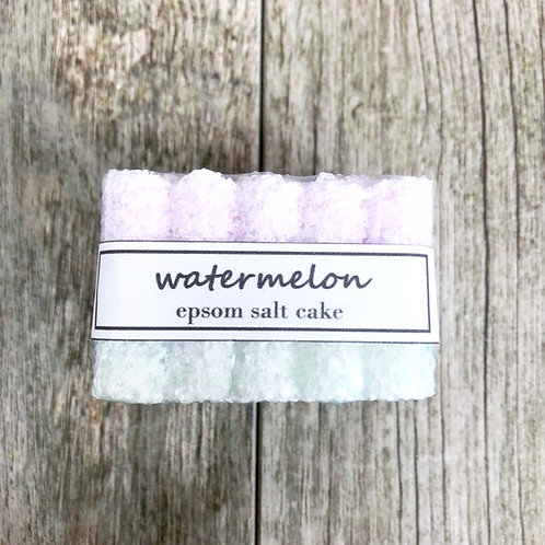 Watermelon Epsom Salt Cake