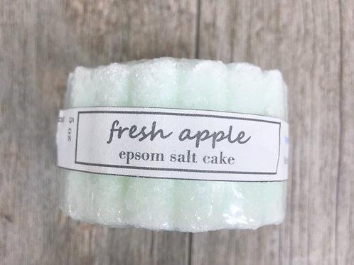 Fresh Apple Epsom Salt Cake