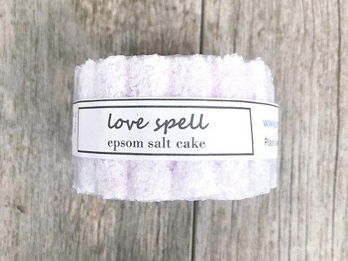 Luv Spell Epsom Salt Cake