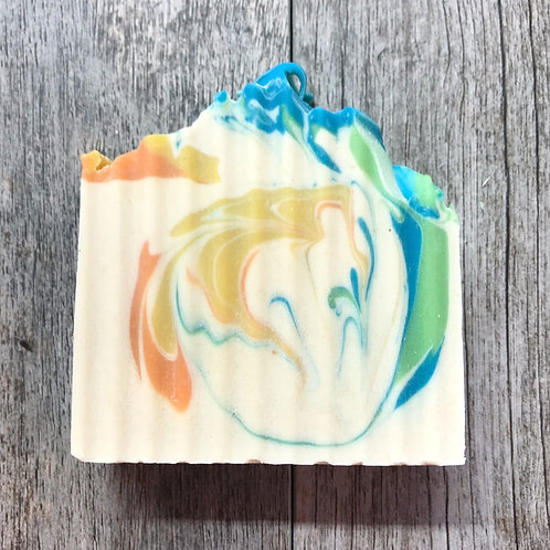 Pineapple Cilantro Goat Milk Soap