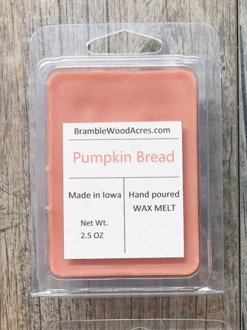 Pumpkin Bread Wax Melts