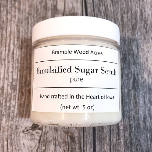 Pure Emulsified Sugar Scrub