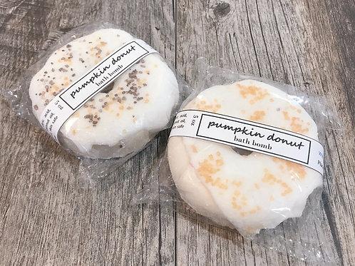 Pumpkin Donut Bath Bomb