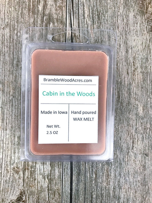 Cabin in the Woods Wax Melts