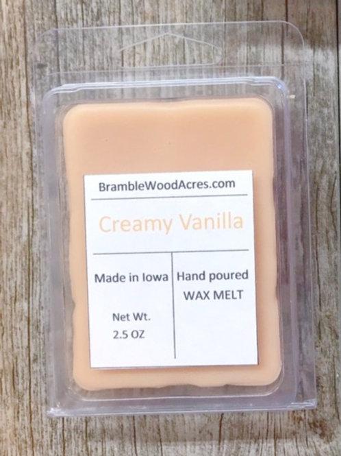 Creamy Vanilla Wax Melts