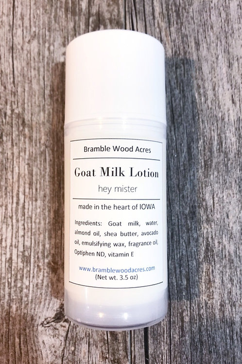 Hey Mister Goat Milk Lotion