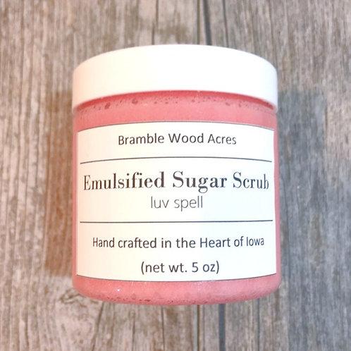 Luv Spell Emulsified Sugar Scrub