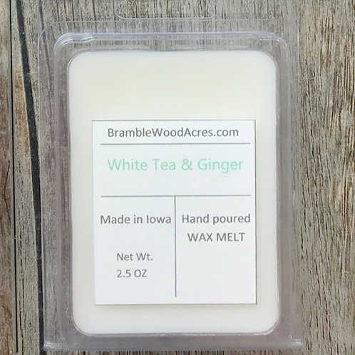 White Tea & Ginger Wax Melts