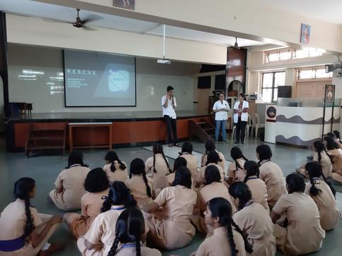 Seminar at St. Paul's Convent High School, Parel