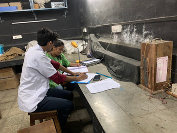 One to one research survey at Vartak Junior College, Vasai