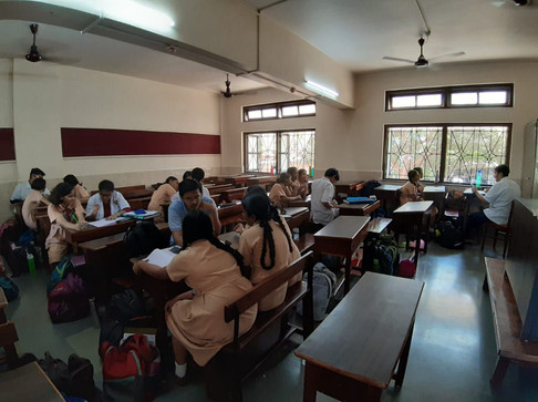 Research Study at St. Paul's Convent High School, Parel