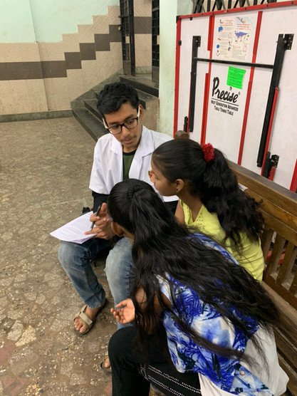 Research study-cum-Workshop at Sai Baba Path Mumbai Public School, Parel - In Association with Vector Organization