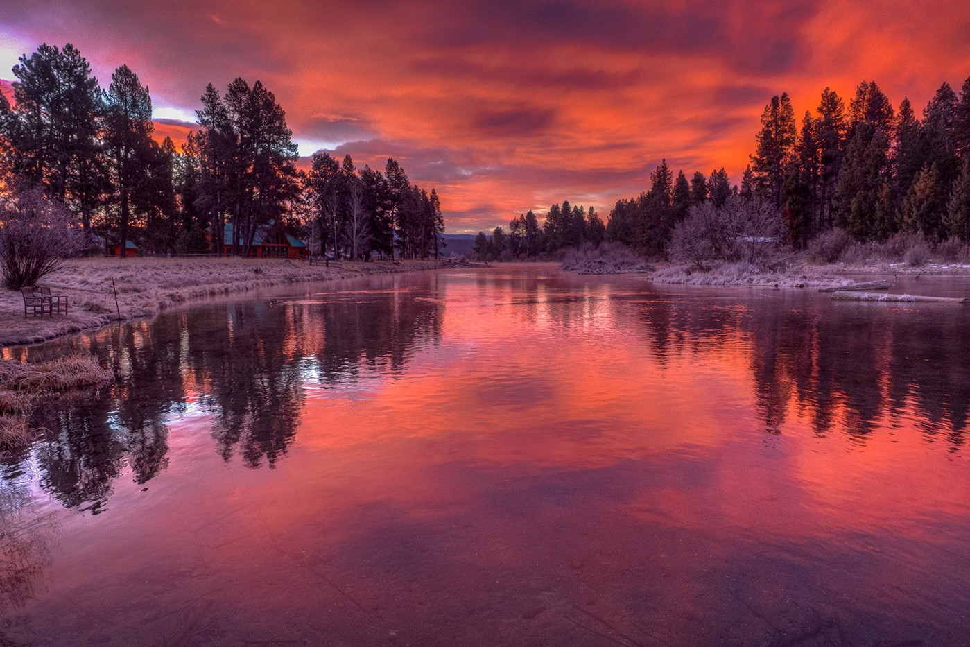 Red Sky in the Morning by Dan Mitchell score 20