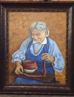 Full Size Render Folk Art by Billie Hage