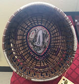 Pine Needle basket by Carolyn Blackmon