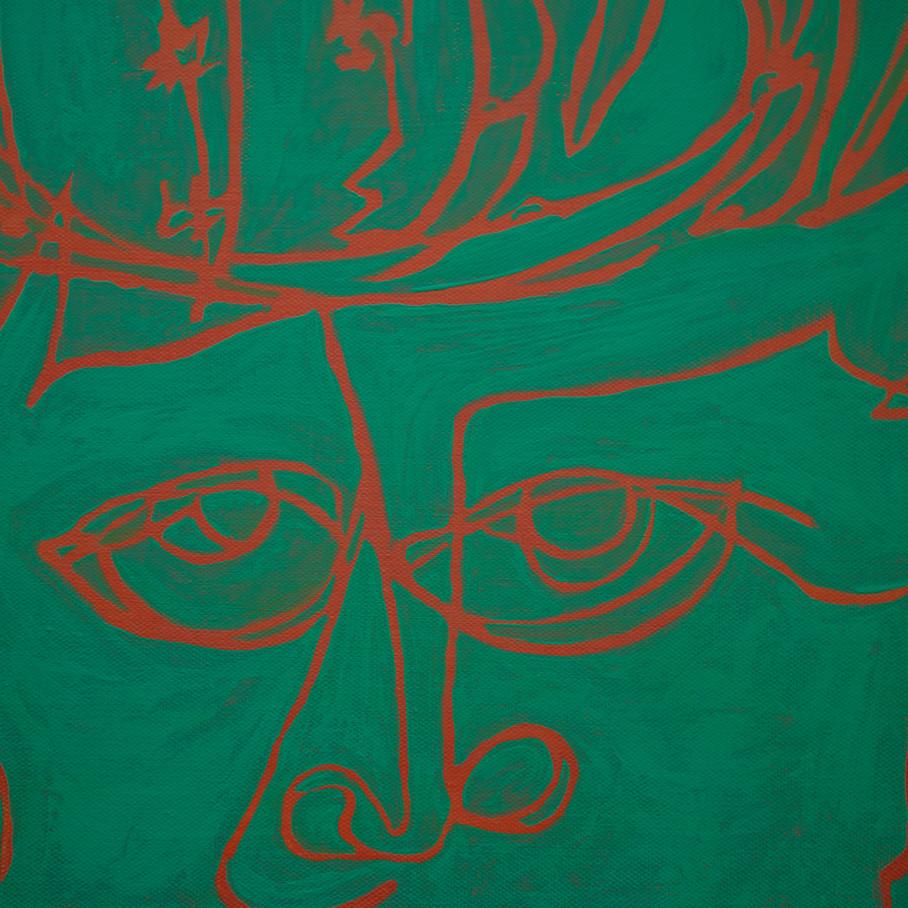 Cactus Man (Detail)