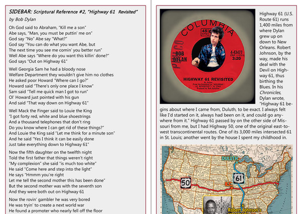 Out on Highway 62 booklet p6-7