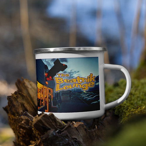 Enamel Mug with Gallery at Twilight
