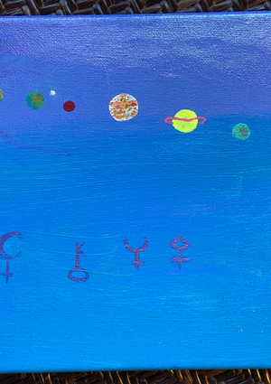 Planets and Asteroid Symbols