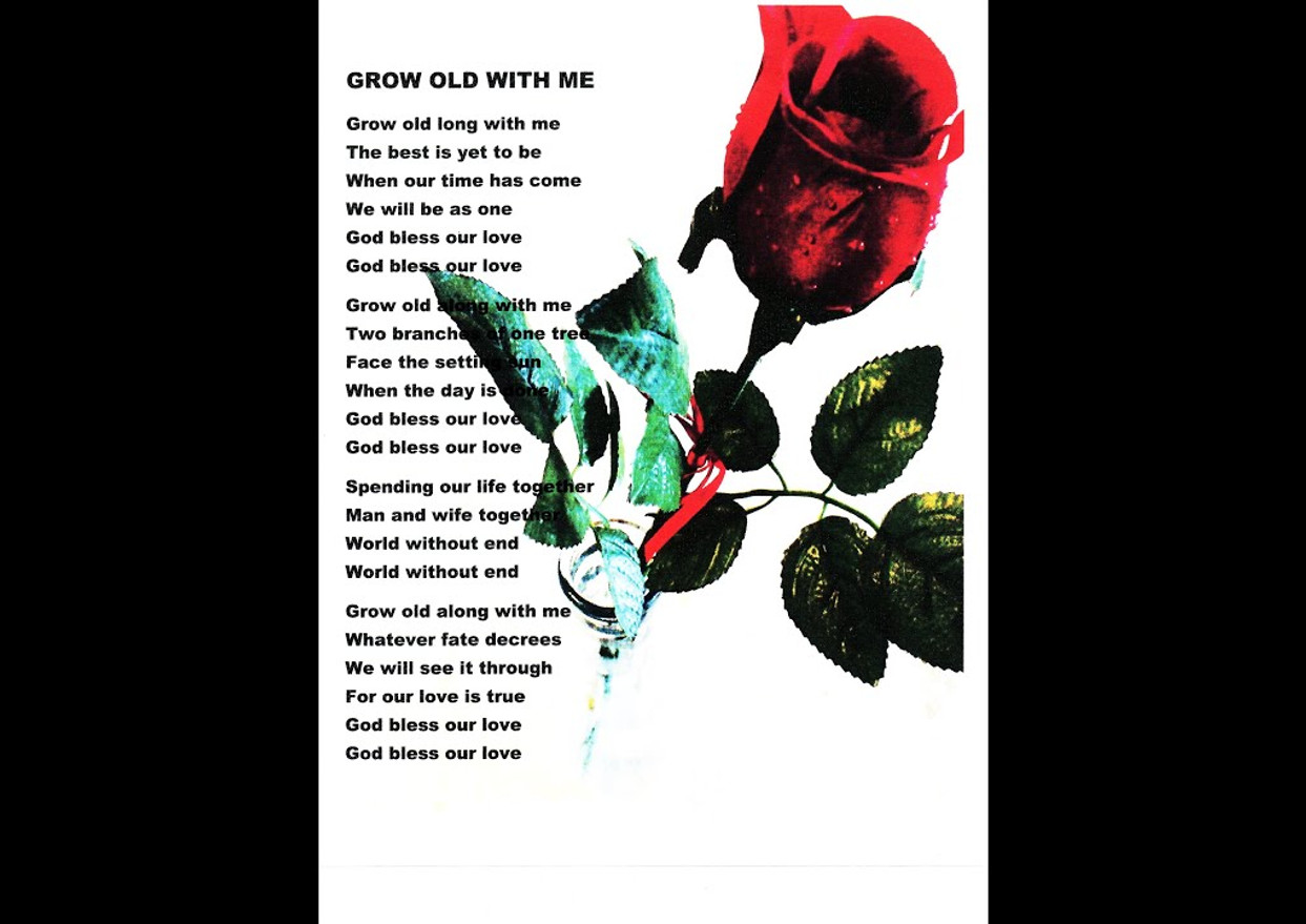 GROW OLD WITH ME John Lennon Cover