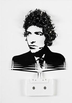 Bob Dylan Cassette Art