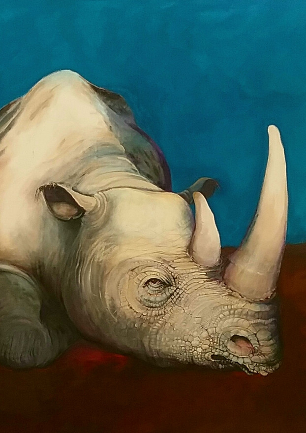TIME MARKER: Rhino in the Studio...arrival of the Humans