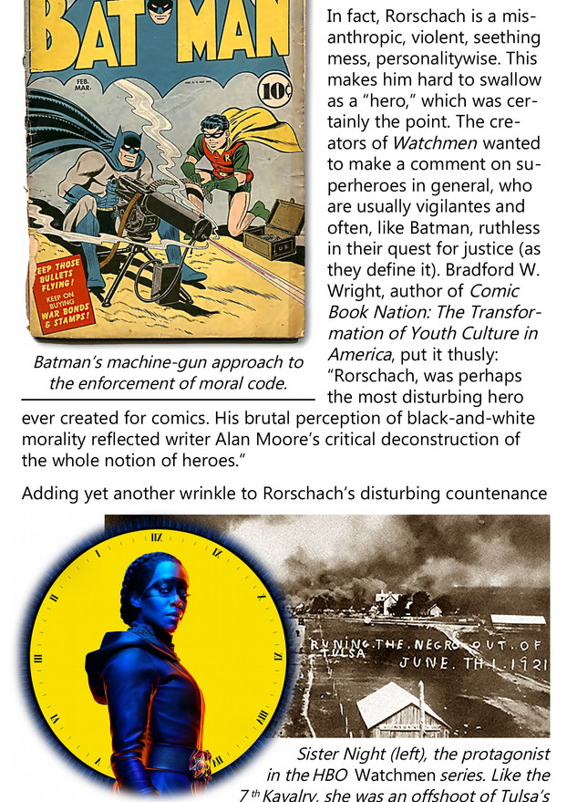 Rorschachs All the Way Down info booklet page 2