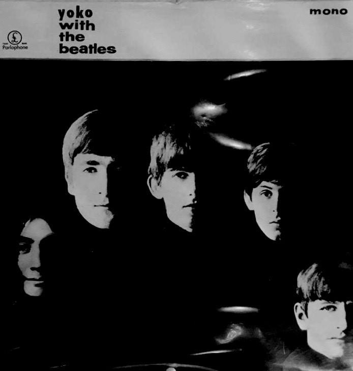 Yoko Ono with The Beatles