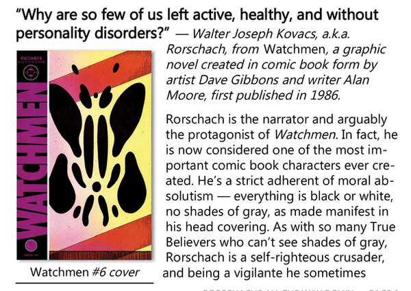Rorschachs All the Way Down info booklet page 1