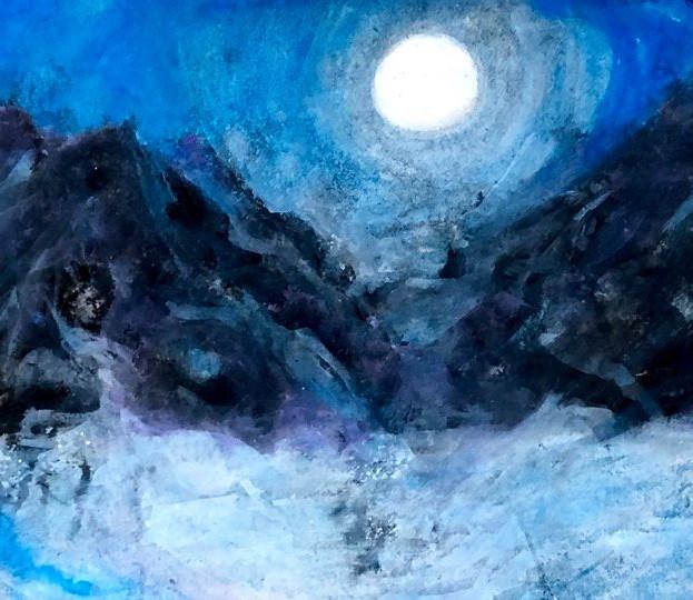 Still Night with Moonlight