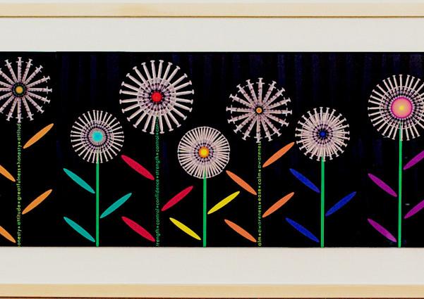 Flowers (Framed)