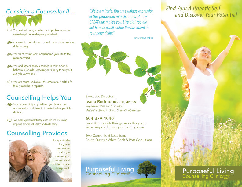 PURPOSEFUL LIVING COUNSELLING