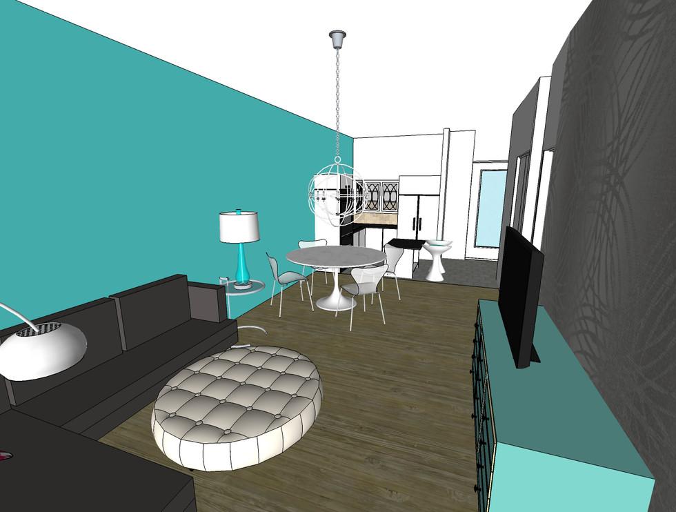 APARTMENT DESIGN - 525 sq ft